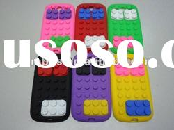 Novelty Building Block Soft Silicone Case for Samsung Galaxy S3 i9300