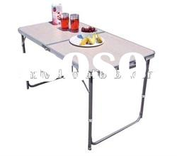 Outdoor Aluminum Rectangle Portable Folding Table