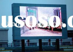 P20mm outdoor full color advertising led display