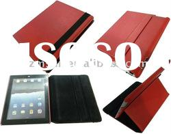 PC+PU Leather Case for iPad 2 with Holder
