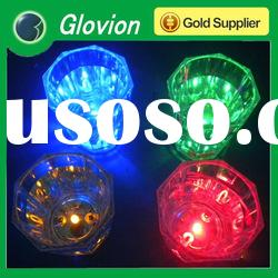 Pop hot led flashing cup,christmas wine glass,flash drinking glass
