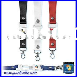 Promotional gift sling USB Flash Drive 32gb with logo