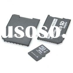 Real Capacity 8GB Micro SD/TF Card with SD + MS Card Adapters