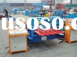 Roof Panel Metal Sheet Roll Forming Machine XF890