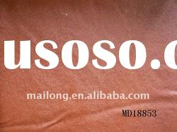 Semi pu leather for clothes&gloves with brown colour leather
