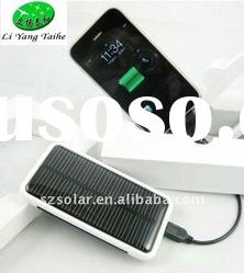 Solar charger for MP3, MP4, mobile phone, PDA & digital camera