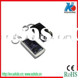 Solar energy charger with keychain