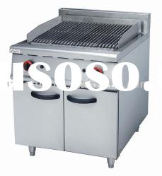 Stainless Steel Gas Lava Rock Grill with Cabinet(GH-989)