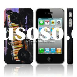 Stylish Stripe Hard Case for Apple iPhone 4