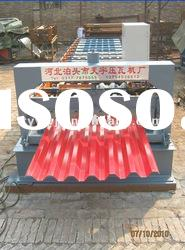 TY35-125-750 Automatic roof board color steel cold roll forming machine