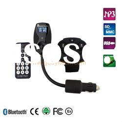 Top quality(CE,FCC, Rohs) with factory price bluetooth car kits with remote control with A2DP