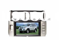 Toyota Prado 2010 Car DVD Player with GPS ipod iphone Bluetooth Steering Wheel Control HD Screen