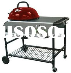Trolley charcoal bbq / bbq / barbecue grill