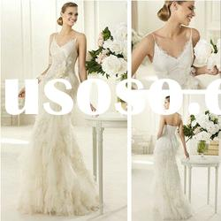 WD8006 2013 Newest Style Wedding Dress with Open Back