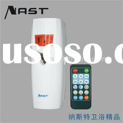 Wall Mounted PP Plastic Remote Control Air Freshener Dispenser