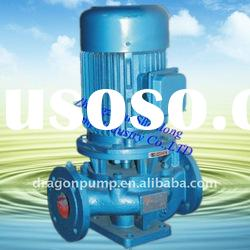 Wearable Vertical Inline Sewage Centrifugal Pump