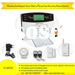 Wireless Phone Auto Dialer Intelligent Security Alarm System for Home & OfficeYL-007ZX