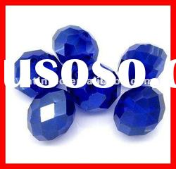 #5040 Crystal Rondelle 8MM Beads Cobalt Color Fashion Dress Accessories