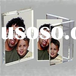 acrylic&pmma rectangle magnetic photo&picture frame