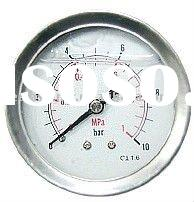 all stainless steel Oil filled pressure gauge