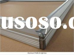 aluminum profile for display & frame/sign light box & advertising light box