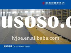 automatic Gypsum Board Production Line with a capacity of 10-12 million sq. M/per year
