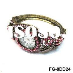 bangle bracelet watch/jewelery watch/fashion spider bangles and diamond bracelets watches FG-8DD20