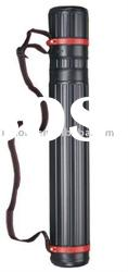 black color plastic Telescopic tube/drafting tube