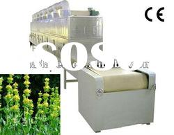 chinese medicinal herbs microwave drying and sterilization machine