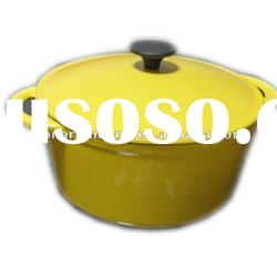 color cast iron porcelain enamel cookware