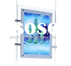 crystal light box/ crystal display/sign light box/advertising light box