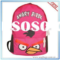 customized design and color girls school backpacks