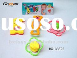 cute funny hot sales infant baby toy rattle
