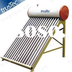 direct-plug low-pressure solar water heating system,solar water heater,solar vacuum tube