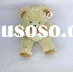 embrace sitting stuffed plush Teddy Bear toys with ribbon