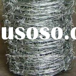 galvanized and coated and spray low carbon steel wire Barbed Iron Wire