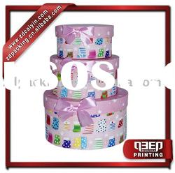 gift packaging round box customize
