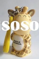 giraffe-shaped cartoon ball pen with flexible body