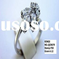 high quality 925 sterling silver rings QCR079