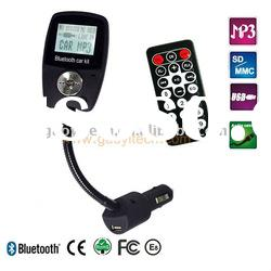 high quality A2DP bluetooth car kit with fm transmitter
