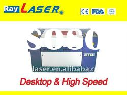 high speed table top laser machine engraving marble stone / glass / non-metal material
