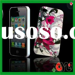 hotselling:TPU material The flower picture cellphone case For Apple Iphone 4G case