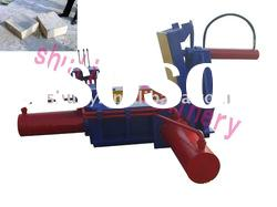hydraulic transmission sawdust compress baler machine (0086-15238693720)