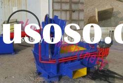 hydraulic transmission wood chip baler compress machine