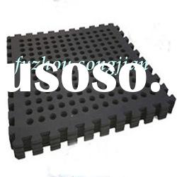 interlocking floor tiles/garage floor tiles/gym flooring tiles