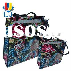 nonwoven promotional bag with zipper