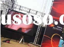 outdoor P16 full color video LED billboard screen