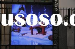 outdoor P16mm full color rental led display screen