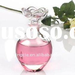 perfume glass bottles with cap