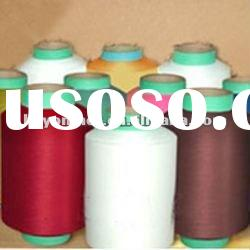 polyester DTY yarn in dope dyed colors